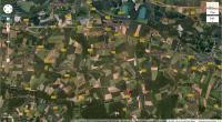 Vue satellite de Montmachoux